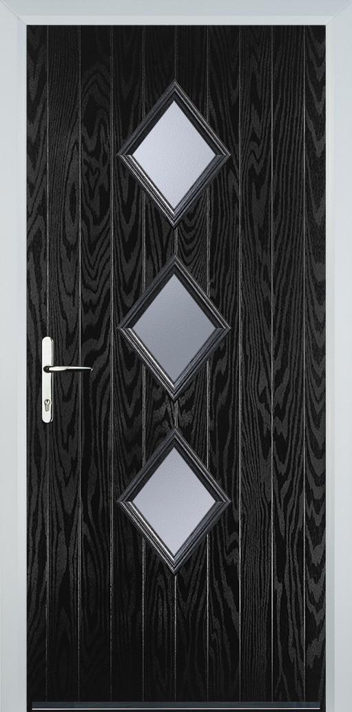 best service 2d6b2 b6683 3 Diamonds Composite Door